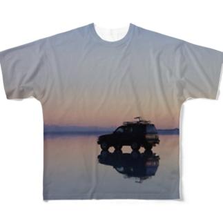 Uyuni Full graphic T-shirts