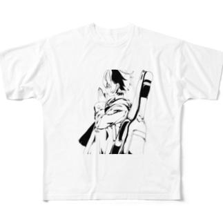 神様日誌 Full graphic T-shirts