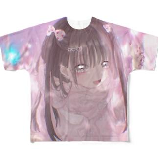 可愛い地雷ちゃん Full graphic T-shirts