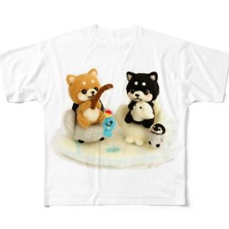 まめしば釣り Full Graphic T-Shirt