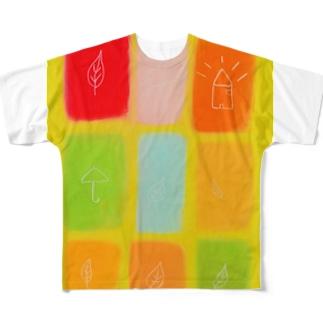 感謝の日々より Full graphic T-shirts