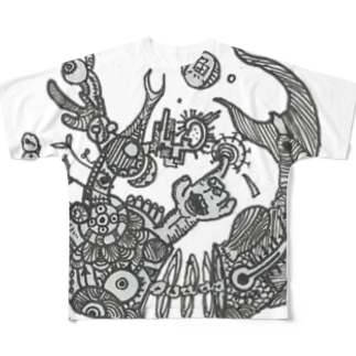 suicideの啓示 Full graphic T-shirts