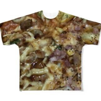 I LOVE PIZZA  Full graphic T-shirts