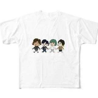 いつメン Full graphic T-shirts
