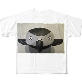 モノトーン・ヨウム Full graphic T-shirts