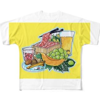 お中元ギフト Full graphic T-shirts