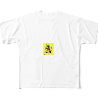四士郎くんの必殺ノート Full graphic T-shirts