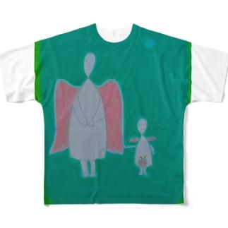 親子天使 Full graphic T-shirts