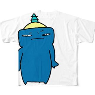 ぐぬぬ Full graphic T-shirts
