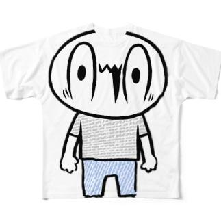 カメントツくん Full graphic T-shirts