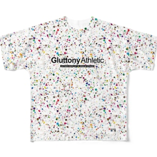 MULTI COLOR PAINT Full graphic T-shirts