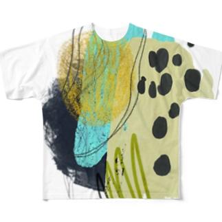 AbstRucgaki 01 Full graphic T-shirts