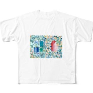 きっとこの香りは金木犀 All-Over Print T-Shirt