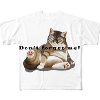 猫の訴えVOL.1 Full graphic T-shirts