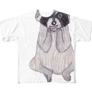 あらいぐま Full graphic T-shirts