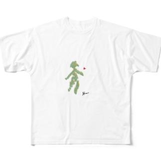 生命 Full graphic T-shirts