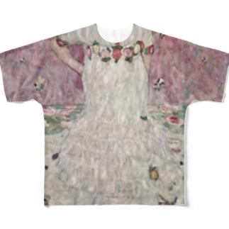 グスタフ・クリムト(Gustav Klimt) / 『メーダ・プリマヴェージ』(1912年) Full graphic T-shirts