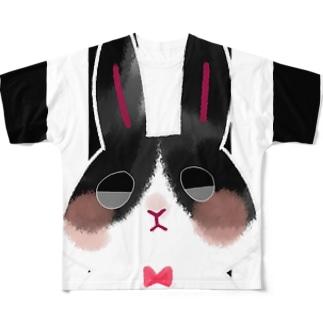 ぱんだうさぎさん Full Graphic T-Shirt