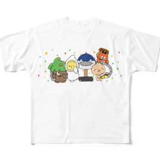 2020 さらだふぁいぶ! Full graphic T-shirts