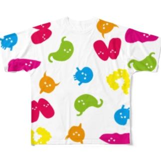 ゾウキーズ Full Graphic T-Shirt