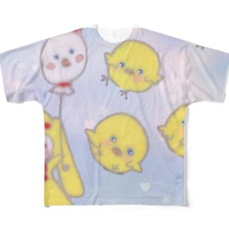 2017 あけおめ Full graphic T-shirts