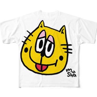 ムシャ局長グッズ Full graphic T-shirts