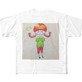 にこ Full graphic T-shirts