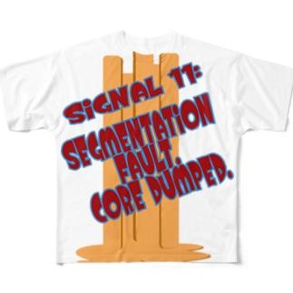 signal core dumped gero Full graphic T-shirts