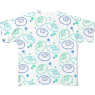 ジェリーフィッシュ Full graphic T-shirts