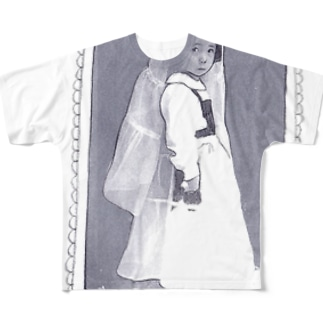 March Hare's Childhood Full graphic T-shirts