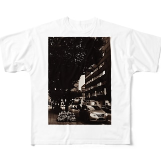L-cotのtraffic Full graphic T-shirts