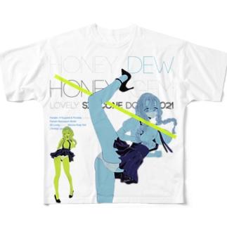 Lovely Elastic Dummy 02 やわらかいポーズ   Full graphic T-shirts