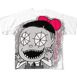 MECOちゃん Full graphic T-shirts