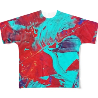 幻惑 Full graphic T-shirts