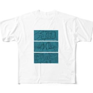 じぇーけーぇ Full graphic T-shirts