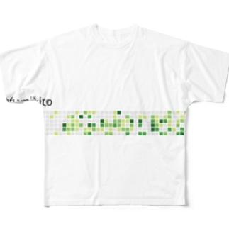 高橋文樹@1月12日SF〆切のfumikito Full graphic T-shirts