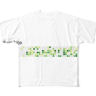 fumikito Full graphic T-shirts