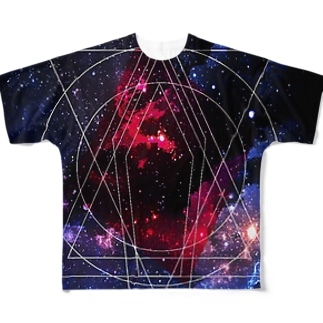 2017 SPECIAL space design Full graphic T-shirts