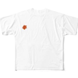 楓マン Full graphic T-shirts