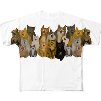 Yawn Chorus Full graphic T-shirts