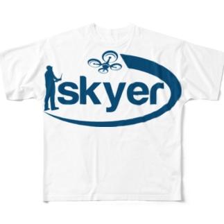 株式会社skyer フルグラフィックTシャツ