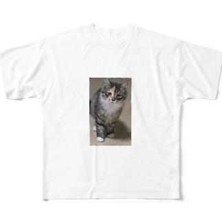 あずき Full graphic T-shirts