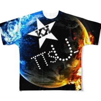 新登場KK TTSU-グッズ Full graphic T-shirts