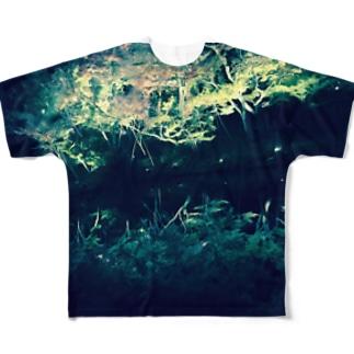 まど Full graphic T-shirts