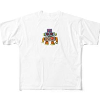 ロボット Full graphic T-shirts