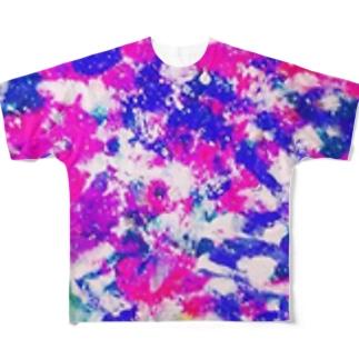 ピンク Full graphic T-shirts