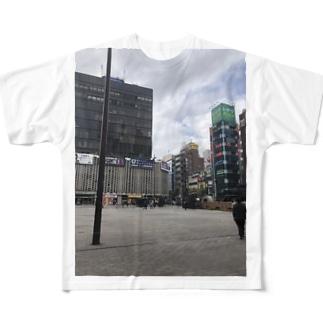 SL広場 Full graphic T-shirts
