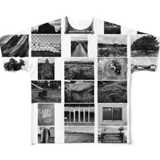『CS』 by 『19x19+0.5』 Full graphic T-shirts