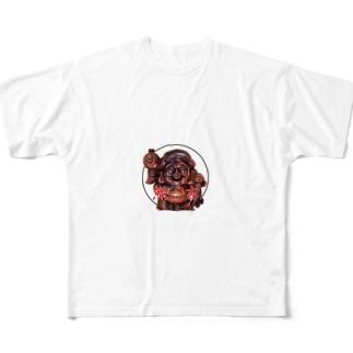 熊吉 Full graphic T-shirts