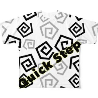 俊足b Full graphic T-shirts